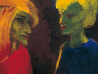 Plakat Ausstellung Impressionismus / Expressionismus