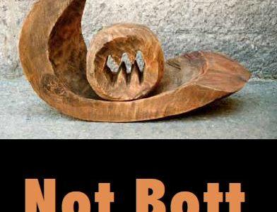Plakat Ausstellung Not Bott