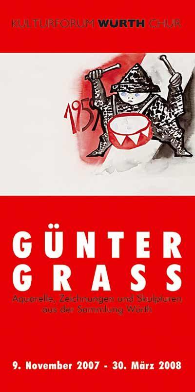 Plakat Ausstellung Günther Grass