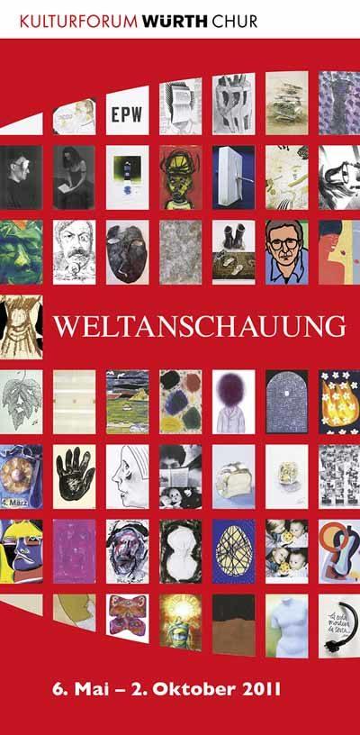 Plakat Ausstellung Weltanschauung