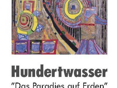 Plakat Ausstellung Friedensreich Hundertwasser