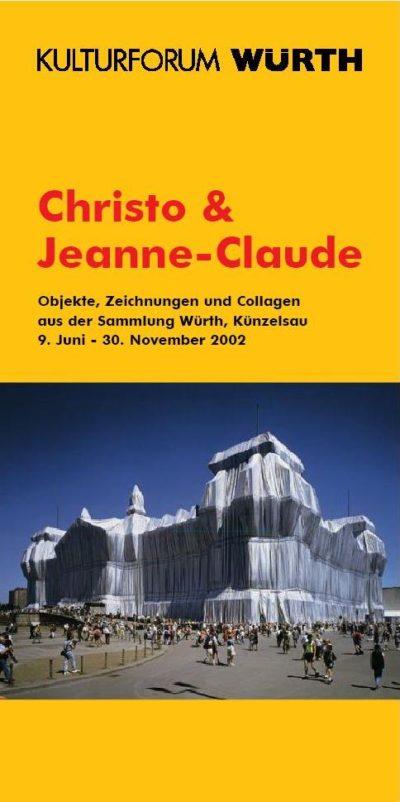 Plakat Ausstellung Christo & Jeanne-Claude