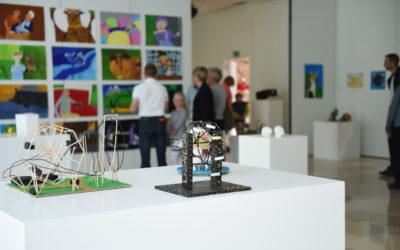 Werke in der Jahresausstellung Würth KinderKunstKlub