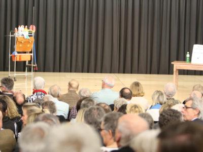 Reinhold Würth Saal - Blick auf die Bühne