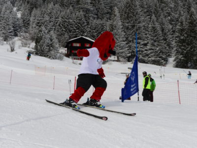 Skirennen, Maskottchen - National Winter Games 2016