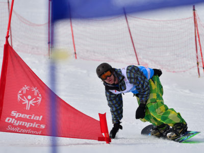 Snowboardrennen - National Winter Games 2016