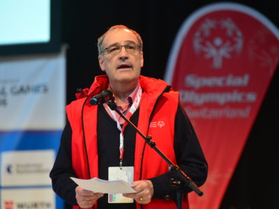 Schlussfeier - National Winter Games 2016 - Guy Parmelin