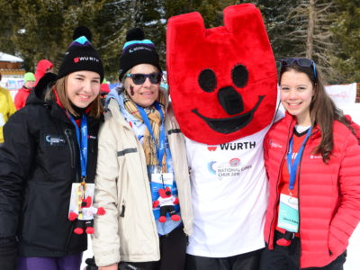 Maskottchen, Sportler, National Winter Games 2016
