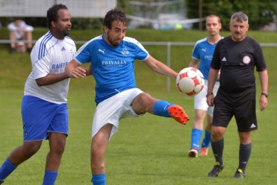 Fussballspiel
