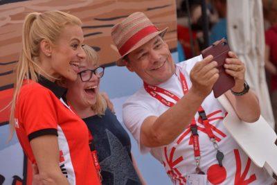 Selfie mit Christa Rigozzi